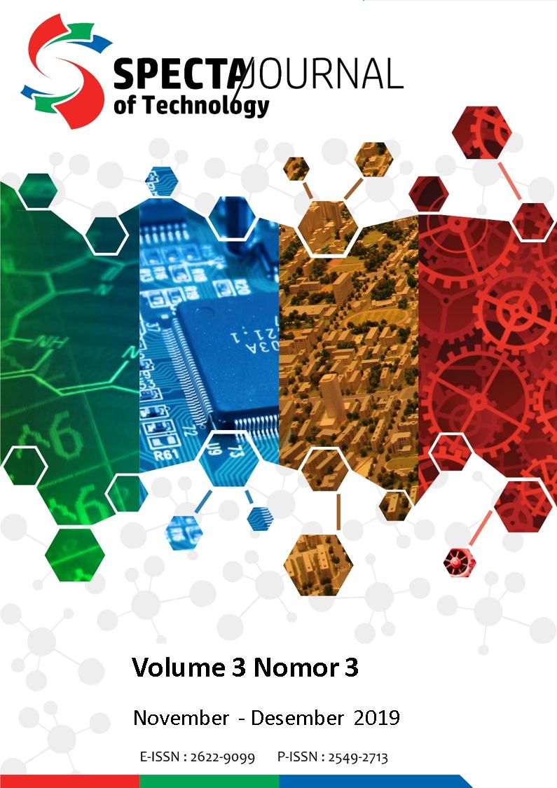 View Vol. 3 No. 3 (2019): SPECTA Journal of Technology